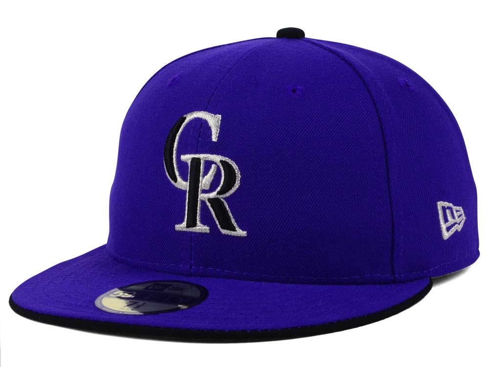 Colorado Rockies New Era MLB Authentic Collection 59FIFTY Cap c8ac709abe7