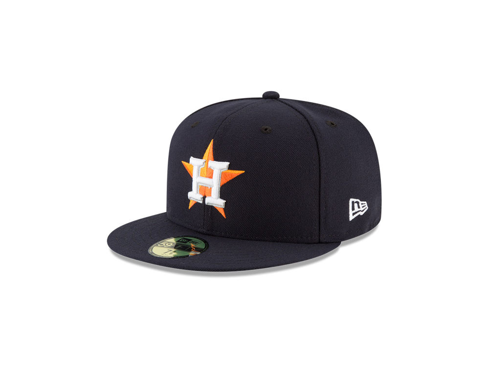 Houston Astros New Era MLB Authentic Collection 59FIFTY Cap  e97e9b5600d
