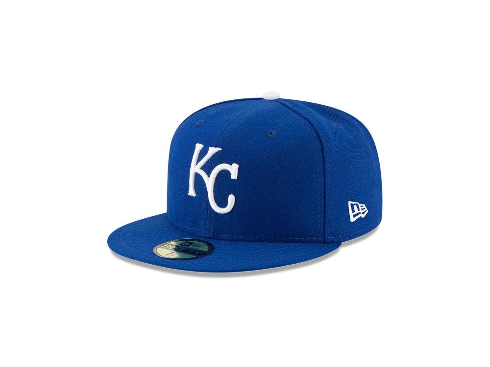 Kansas City Royals New Era MLB Authentic Collection 59FIFTY Cap ... 7ec4ec48b61