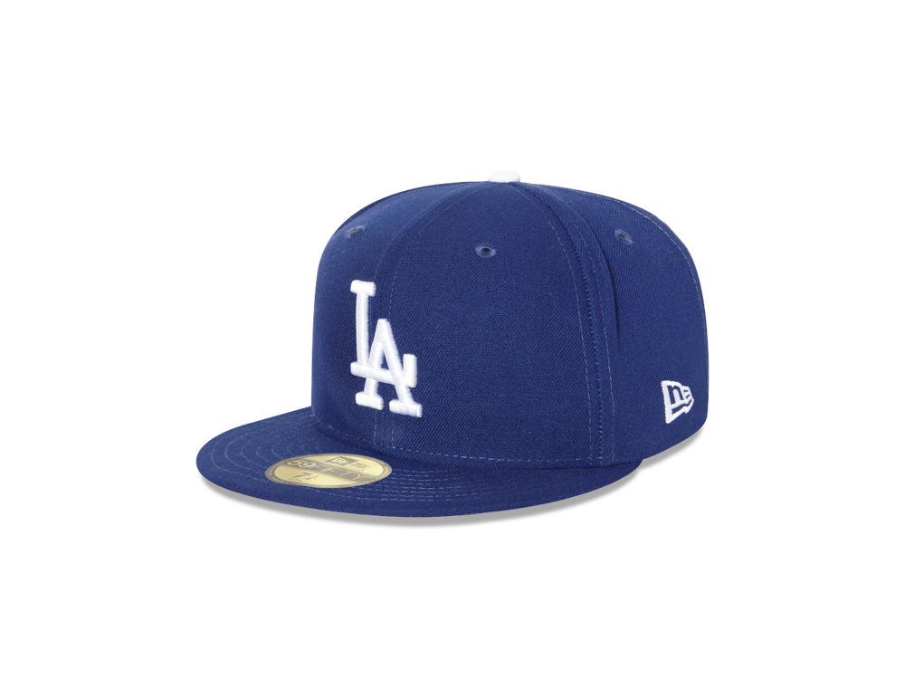 Los Angeles Dodgers New Era MLB Authentic Collection 59FIFTY Cap ... a0a9124c19d