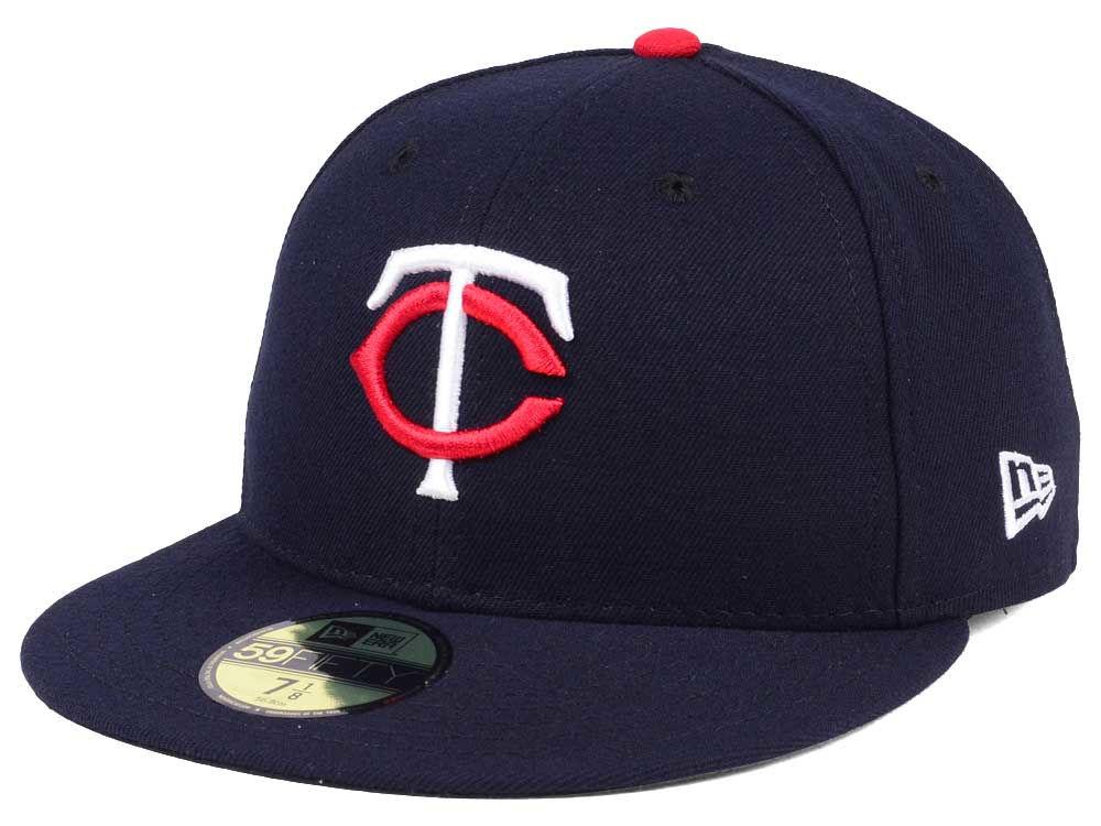 Minnesota Twins New Era MLB Authentic Collection 59FIFTY Cap  4922e0c90563