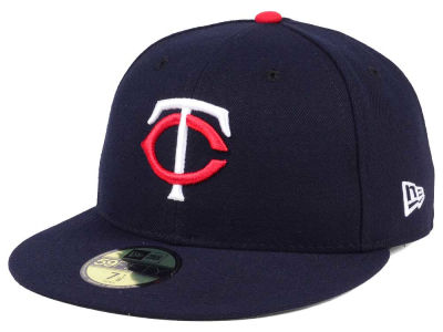 fc68f237be3 Minnesota Twins New Era MLB Authentic Collection 59FIFTY Cap