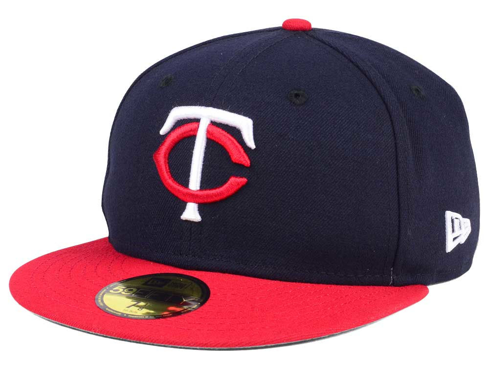 0a7a6efe953 Minnesota Twins New Era MLB Authentic Collection 59FIFTY Cap