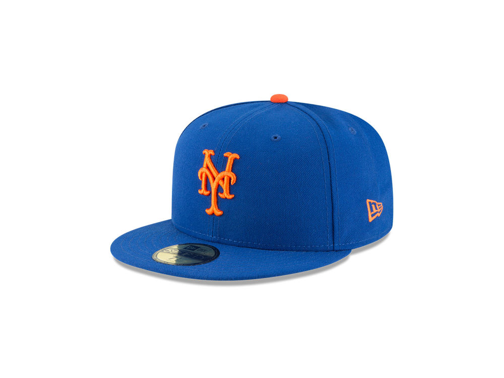6879089f2fb New York Mets New Era MLB Authentic Collection 59FIFTY Cap