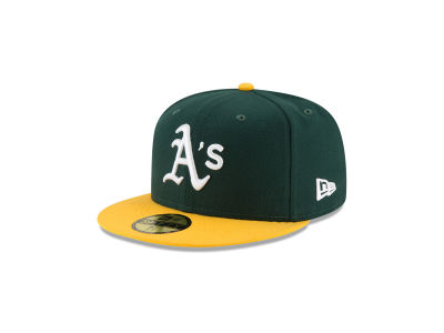 Oakland Athletics New Era MLB Authentic Collection 59FIFTY Cap 166463d50ce