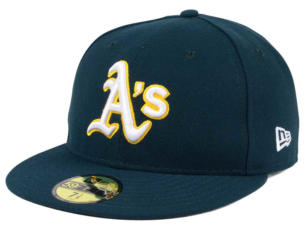 Oakland Athletics New Era MLB Authentic Collection 59FIFTY Cap 9c41ea2a9b2