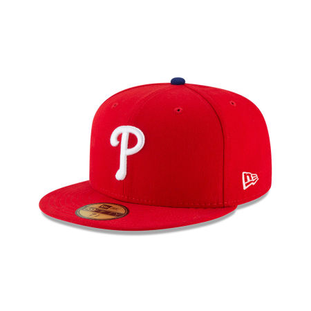 Philadelphia Phillies New Era MLB Authentic Collection 59FIFTY Cap