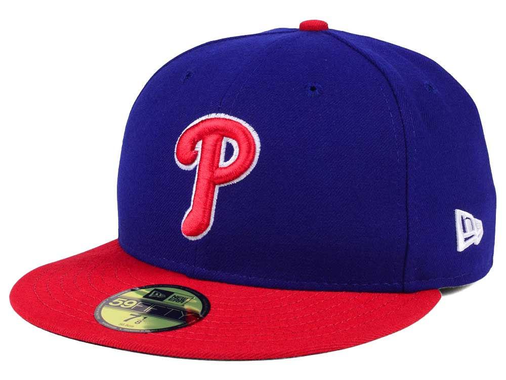 Philadelphia Phillies New Era MLB Authentic Collection 59FIFTY Cap 3c19f076ae9