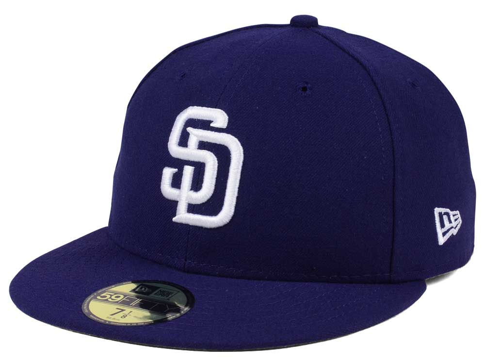 San Diego Padres New Era MLB Authentic Collection 59FIFTY Cap  8096e4f244b