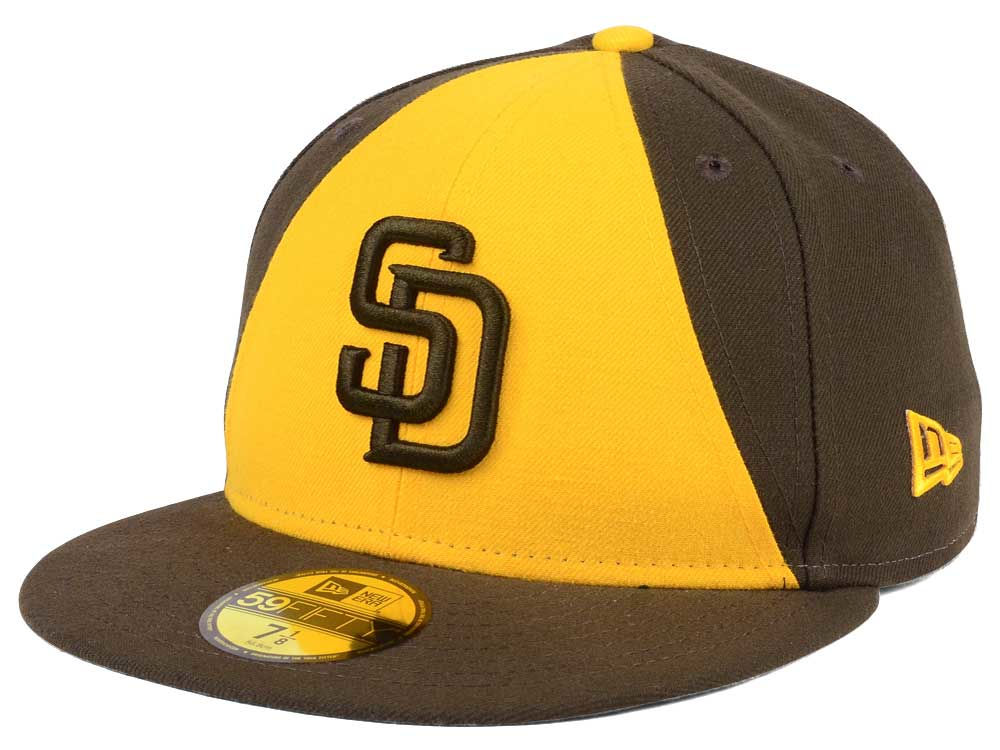 8d1a074f171 San Diego Padres New Era MLB Authentic Collection 59FIFTY Cap