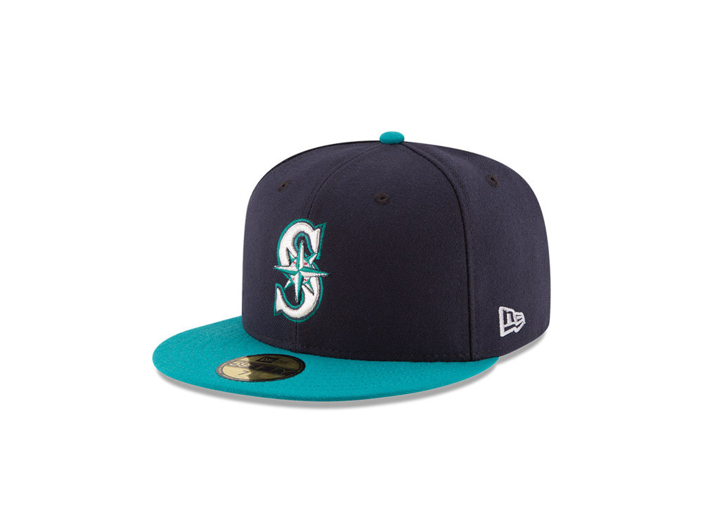d8373680e86 Seattle Mariners New Era MLB Authentic Collection 59FIFTY Cap