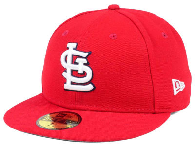 St. Louis Cardinals New Era MLB Authentic Collection 59FIFTY Cap c29cafb6c2