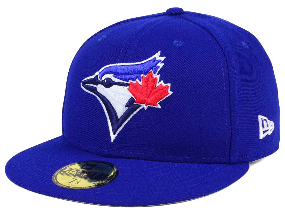 e857ea6381c Toronto Blue Jays New Era MLB Authentic Collection 59FIFTY Cap ...