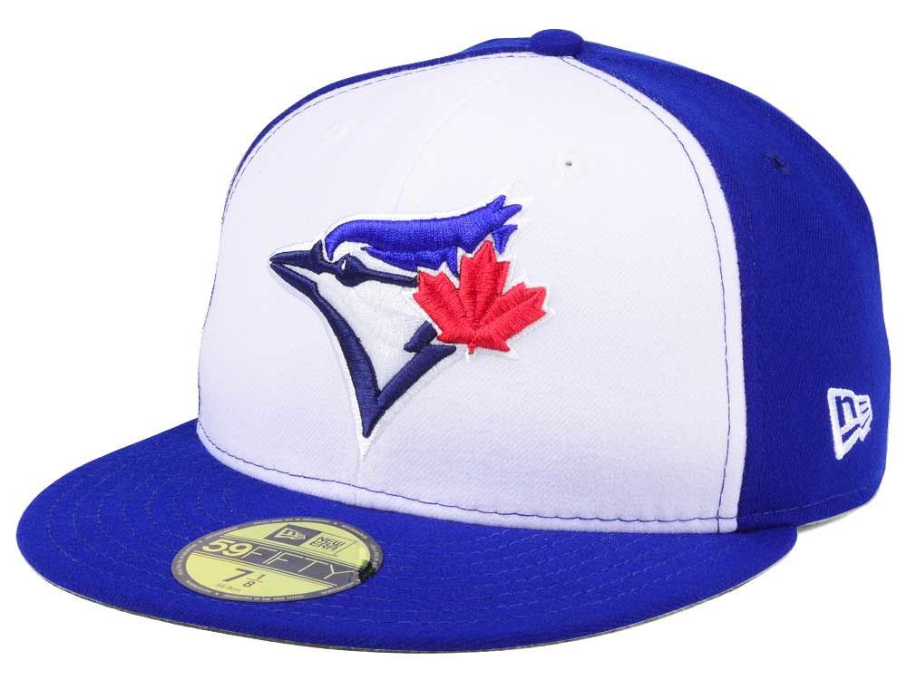 Toronto Blue Jays New Era MLB Authentic Collection 59FIFTY Cap ... 69b2c2c85244
