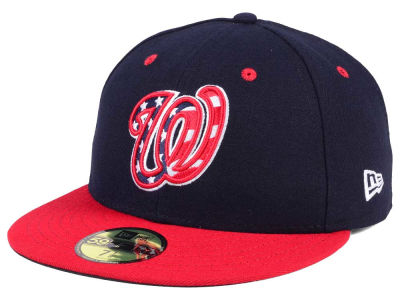 Washington Nationals New Era MLB Authentic Collection 59FIFTY Cap f43328b144e