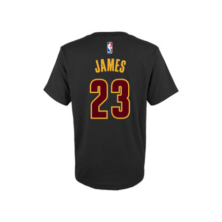 Cleveland Cavaliers LeBron James NBA Toddler Name And Number T-Shirt