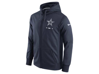 Dallas Cowboys Nike NFL Men's Therma Full Zip Hoodie