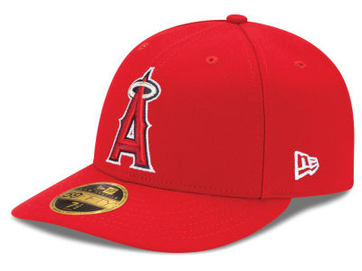 Los Angeles Angels New Era MLB Low Profile AC Performance 59FIFTY Cap