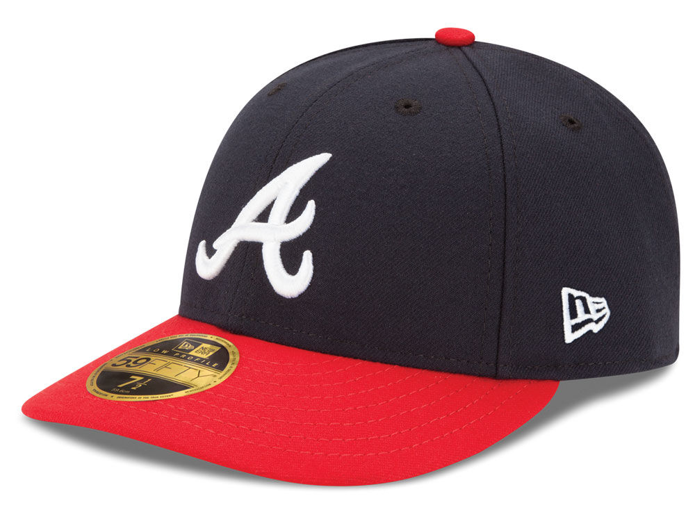 54c3d98b0b7 Atlanta Braves New Era MLB Low Profile AC Performance 59FIFTY Cap