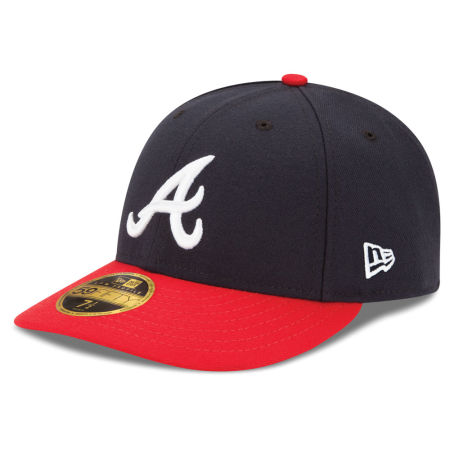 Atlanta Braves New Era MLB Low Profile AC Performance 59FIFTY Cap