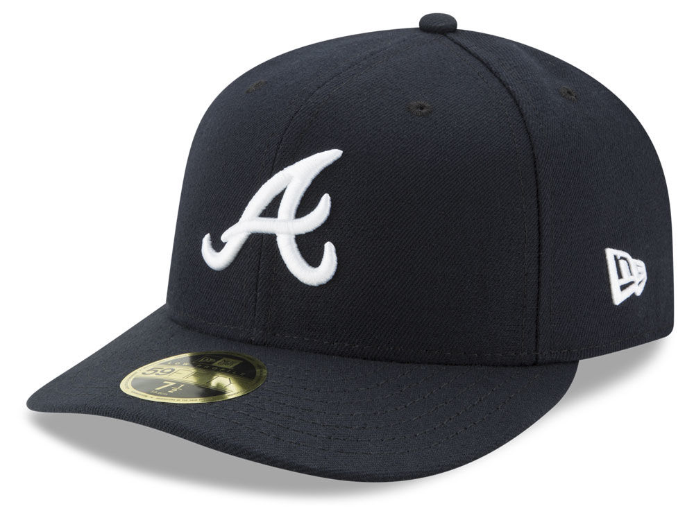 Atlanta Braves New Era MLB Low Profile AC Performance 59FIFTY Cap 5fa301e2d71