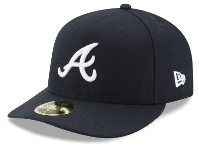 Atlanta Braves New Era MLB Low Profile AC Performance 59FIFTY Cap