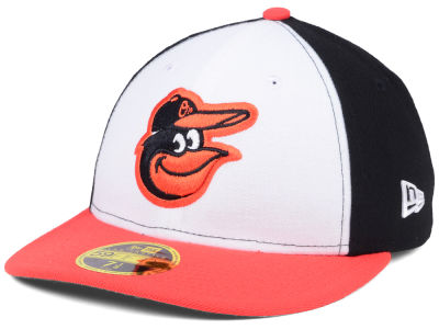 Baltimore Orioles New Era MLB Low Profile AC Performance 59FIFTY Cap