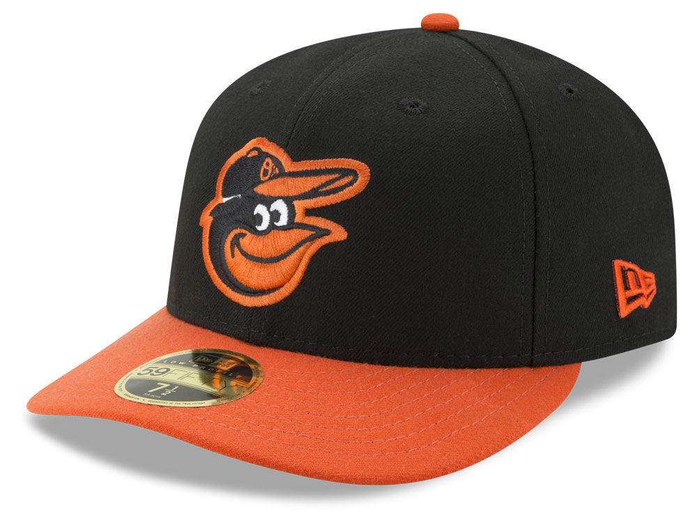 e49360147a3 Baltimore Orioles New Era MLB Low Profile AC Performance 59FIFTY Cap ...