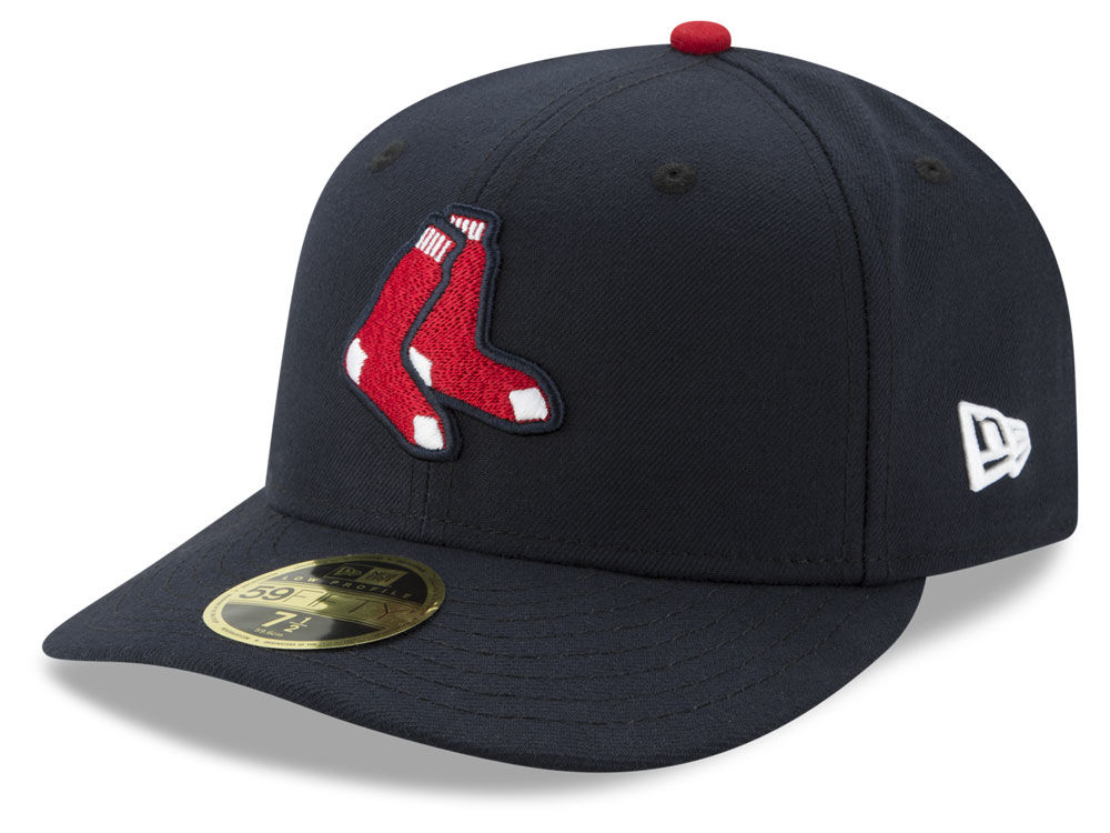 Boston Red Sox New Era MLB Low Profile AC Performance 59FIFTY Cap ... b9d1fe3c3c4a