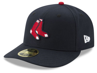Boston Red Sox New Era MLB Low Profile AC Performance 59FIFTY Cap