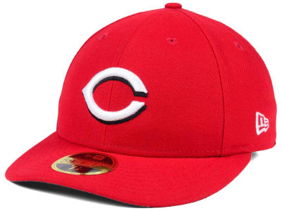 Cincinnati Reds New Era MLB Low Profile AC Performance 59FIFTY Cap