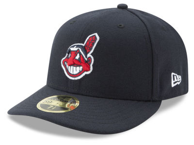 Cleveland Indians New Era MLB Low Profile AC Performance 59FIFTY Cap