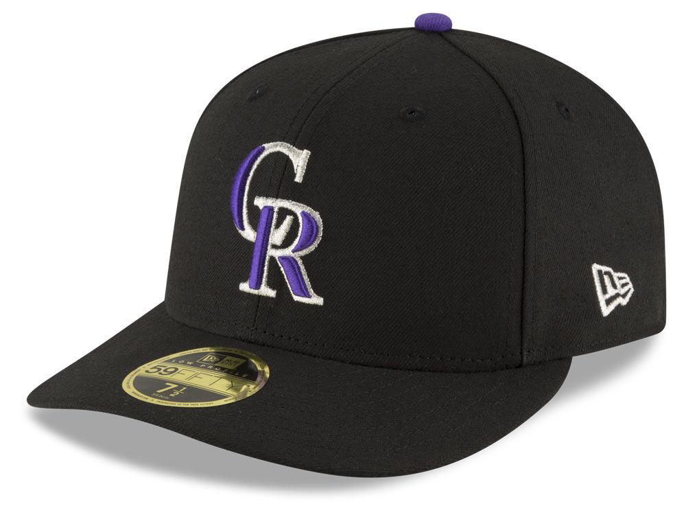 Colorado Rockies New Era MLB Low Profile AC Performance 59FIFTY Cap ... e7f5c1fd7ac