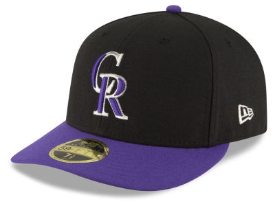Colorado Rockies New Era MLB Low Profile AC Performance 59FIFTY Cap