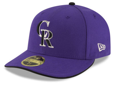 Colorado Rockies New Era MLB Authentic Collection Low Crown 59FIFTY Cap