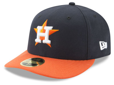 Houston Astros New Era MLB Low Profile AC Performance 59FIFTY Cap