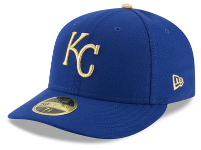 Kansas City Royals New Era MLB Low Profile AC Performance 59FIFTY Cap