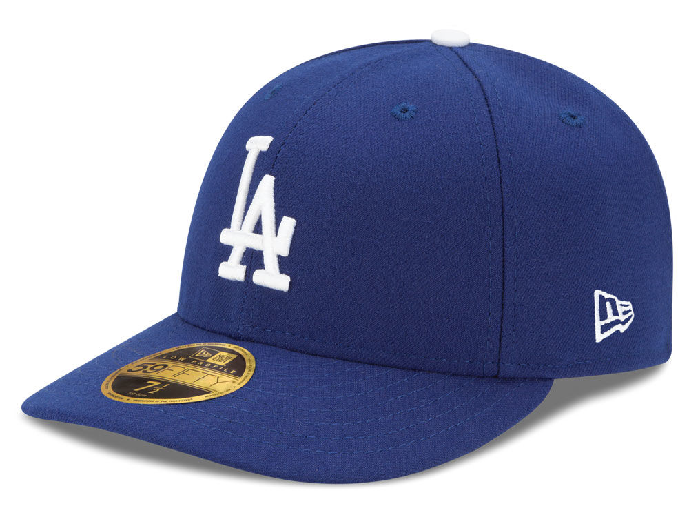 Los Angeles Dodgers New Era MLB Low Profile AC Performance 59FIFTY Cap  80cb0005609