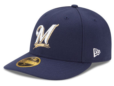 Milwaukee Brewers New Era MLB Low Profile AC Performance 59FIFTY Cap