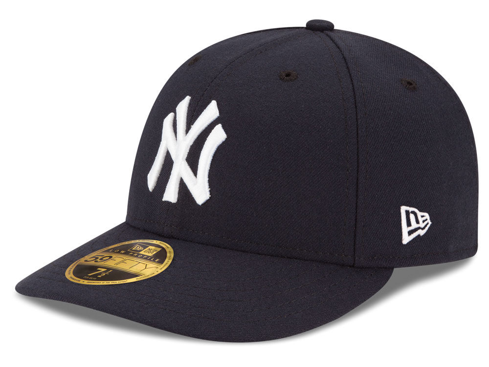 New York Yankees New Era MLB Low Profile AC Performance 59FIFTY Cap ... 9e84dd65fd3b