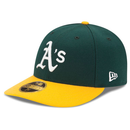 Oakland Athletics New Era MLB Low Profile AC Performance 59FIFTY Cap