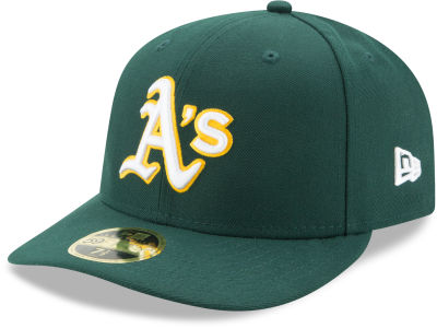 Oakland Athletics New Era MLB Low Profile AC Performance 59FIFTY Cap