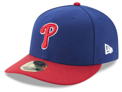 Philadelphia Phillies New Era MLB Low Profile AC Performance 59FIFTY Cap