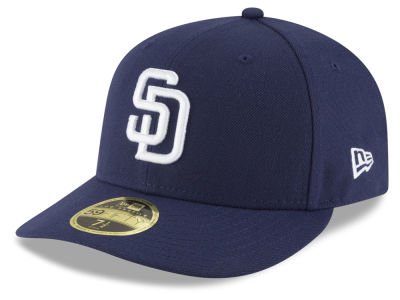 San Diego Padres New Era MLB Low Profile AC Performance 59FIFTY Cap