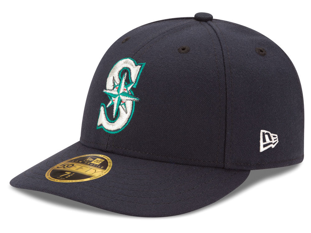 quality design ee9d3 b6191 ... get seattle mariners new era mlb low profile ac performance 59fifty cap  286a2 694a3
