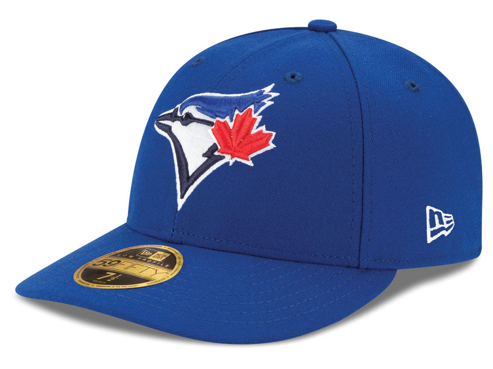 a5f77509982 Toronto Blue Jays New Era MLB Low Profile AC Performance 59FIFTY Cap ...