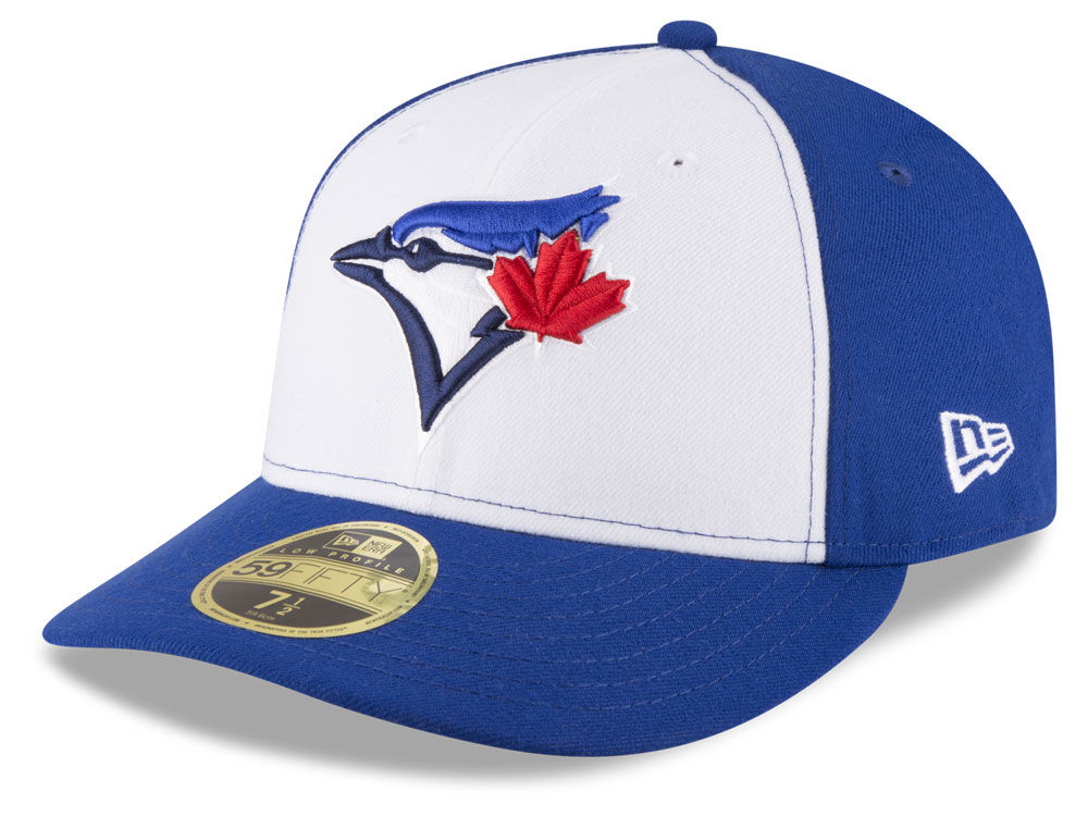 21c7832e172 Toronto Blue Jays New Era MLB Low Profile AC Performance 59FIFTY Cap ...