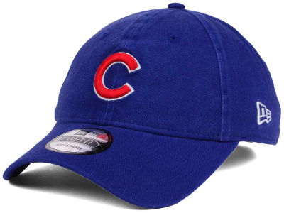 Chicago Cubs New Era MLB World Series W Trophy 9TWENTY Strapback Cap