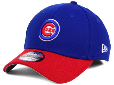 Chicago Cubs New Era MLB World Series W Trophy 39THIRTY Cap