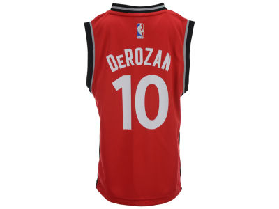 Toronto Raptors Derozan Outerstuff Youth NBA Revolution 30 Jersey